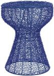 Safavieh Home Collection Tabitha Iron Chain Stool, Dark Blue $15