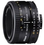 Nikon AF Nikkor 50mm f/1.8D Autofocus Lens for Nikon DSLR Digital Camera $100