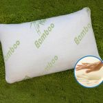Hotel Comfort Bamboo Memory Foam Pillow with Bag $20