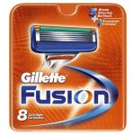 8 pack Gillette Fusion ProGlide Blades (cartridges) $18 and more
