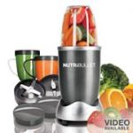 NutriBullet 12-pc. 600-Watt Superfood Nutrition Extractor & Blender Set $55 or less