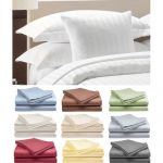 4-Piece Hotel Deluxe 100% Cotton Sateen Bed Sheet Set $20