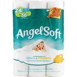96 Rolls Angel Soft Big Rolls 2-Ply Bath Tissue $25.60
