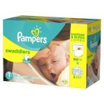 2-Box Pampers Diapers & Wipes Combo Pack + $25 GC for $77.38