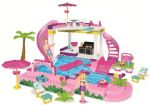 Mega Bloks Barbie Pool Party Play Set $24