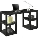 Altra Deluxe Parsons Desk, Black Oak $80