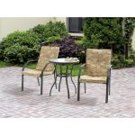 Mainstays Spring Creek 3-Piece Outdoor Bistro Set, Seats 2 $69