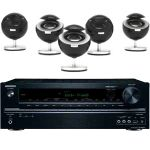 ONKYO TXNR535 5.2 Channel Network A/V Receiver + JAMO 360 Series S25 Speakers $400