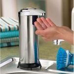 Journey's Edge Stainless Steel Portable Motion Activated Soap Dispenser w/Stand $12