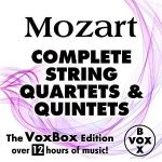 Mozart: Complete String Quartets and Quintets (The VoxBox Edition) $1