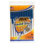 10-Pack BIC Ballpoint Pens in Various Colors $0.50