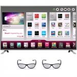 LG 55LB6500 55-Inch 1080p 3D Smart LED TV + 1-Year Netflix +  $350 Dell eGift Card $1099
