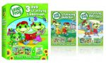 LeapFrog Learning DVD 3-disc Sets $14 and more
