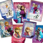 "Disney Frozen 43"" x 55"" Royal Plush Mink Raschel Blankets $30"