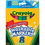 Crayola Washable Markers 8/pk $0.97