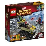 LEGO Superheroes 76017 Captain America vs. Hydra $14.97
