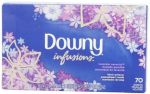 70 Count Downy Ultra Infusions Lavender Serenity Sheet Fabric Softener  $2.61
