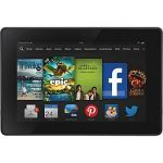 """Pre-owned 16GB Amazon Kindle Fire HDX 7"""" WiFi Tablet w/ Special Offers $120"""