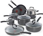 T-fal Signature 15-piece Hard Anodized Nonstick Thermo-Spot Heat Indicator Cookware Set $100