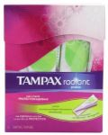 16-Count Tampax Radiant Plastic Unscented Super Absorbency Tampons $1