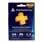 Sony PlayStation Plus 1 Year Membership Subscription Card $40