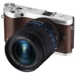 Samsung NX300 20.3MP CMOS Smart WiFi Compact DSLR Digital Camera with 18-55 Lens $440