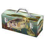 Sainty Art Works Art Deco Fish Inspired Portable Tool Box $5
