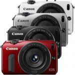 Canon EOS-M Digital Camera w/ EF-M 22mm f/2 Lens $250
