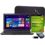 "Toshiba C55-B5200 15.6"" Laptop (Core i3-4005U 1.7GHz, 6GB, 750GB, DVDRW, Win 8.1) + Extras $300 (YMMV)"