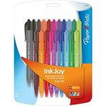 20-Pack PaperMate Retractable Ballpoint Pens (black or assorted colors) $2.01
