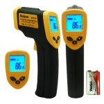 Nubee Non-Contact Infrared Digital Thermometer w/ Laser Sight $12