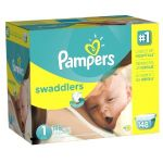 3 Boxes of Pampers Swaddlers Giant Pack Diapers + $25 Target Gift Card $96