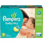 Staples - $25 off on pampers diapers and wipes worth $75