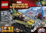 LEGO Super Heroes Captain America vs. Hydra Play Set $15