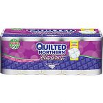 Quilted Northern 30 Rolls Ultra Plush 3-Ply, or Soft & Strong 2-Ply Bathroom Tissue $14