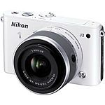 Nikon 1 J3 Mirrorless Camera w/ 10-30mm Lens (Refurbished) $179 & more