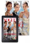 One Year of Vogue Magazine plus a Free Clutch $6