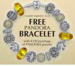 PANDORA - Free Bracelet with $100 Purchase of Jewelry (In-store)
