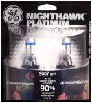 GE 9007NHP/BP2 Nighthawk PLATINUM Headlight Bulbs (2-Pack) $11