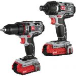 PORTER-CABLE PCCK602L2 20V MAX Lithium 2 Tool Combo Kit (refurbished) $90