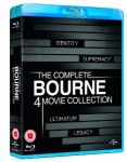 The Complete Bourne 4 Movie Collection [Blu-ray] [Region Free] $18