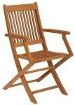 Strathwood Basics Folding Hardwood Armchair, Set of 2 $49