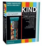 KIND Nuts & Spices, Dark Chocolate Nuts & Sea Salt, 1.4 Oz, 12 Count $7.94