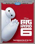Big Hero 6 (Blu-ray + DVD + Digital HD) Pre-order $18.90