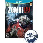 Pre-owned ZombiU for Nintendo Wii U $3