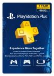 Sony PlayStation Plus 12 Month Live Subscription Card $40