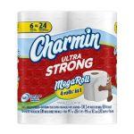 Charmin Ultra Strong Toilet Paper (18 Mega Rolls) $15