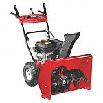 "Yard Machines 26"" 208cc Two-Stage Snow Thrower $419"