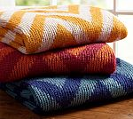 Pottery Barn Large Chevron Throw Blanket $17 and more