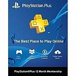 PlayStation Plus 12 Month Membership Card $43
